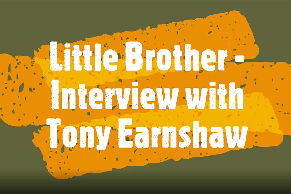 Little Bother - interview with Tony Earnshaw