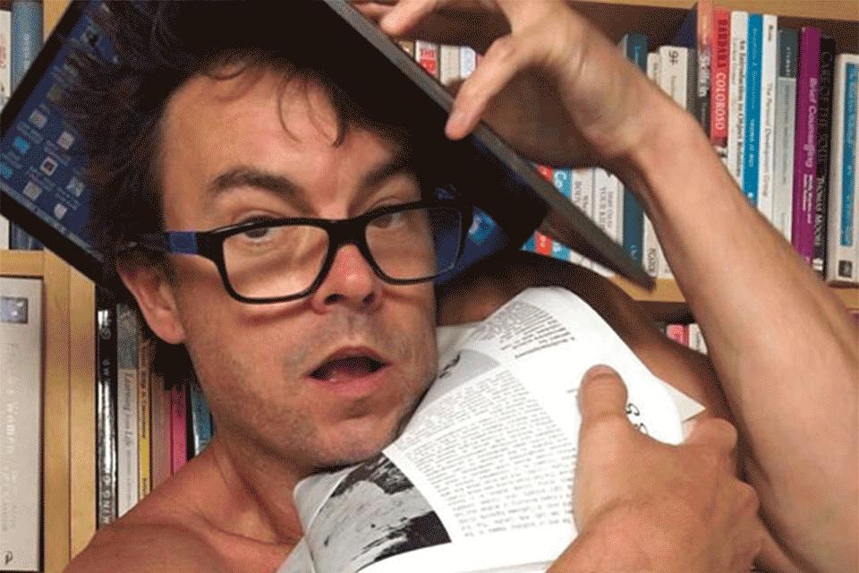 Darren Cheek in Diary of a Madman